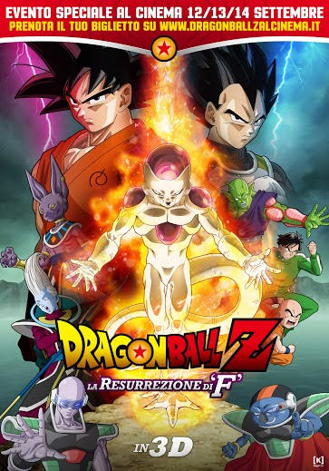 dragonball la resurrezione di f