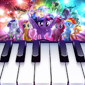 6.  My Little Pony : Colorful Piano Tiles
