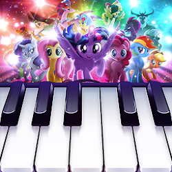 My Little Pony : Colorful Piano Tiles