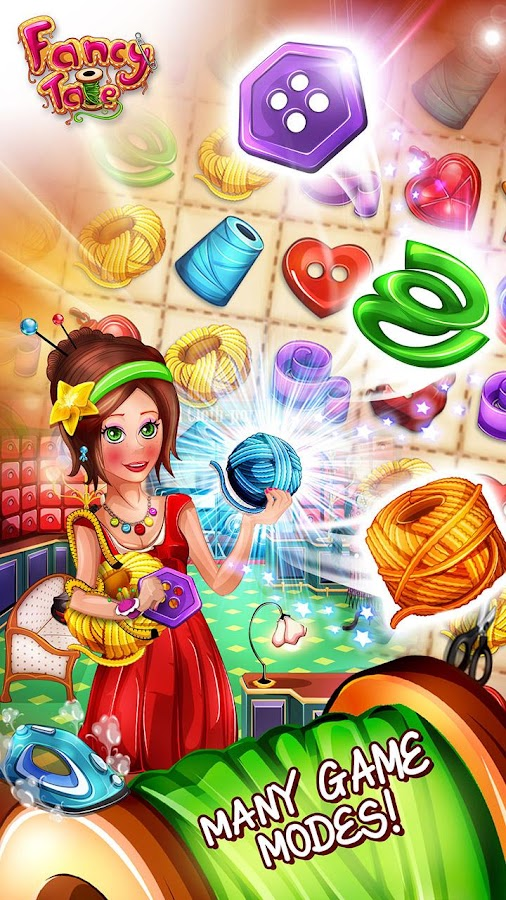 Fancy Tale:Fashion Puzzle Game- screenshot