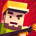 GUNZ.io Pixel Block 3D Multiplayer Pocket Arena icon