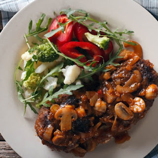 Slow Cooker Salisbury Steak with Mushroom Gravy Recipe