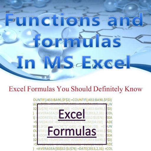MS-Excel Formulas