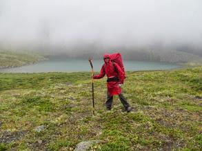 Photo: На пути к перевалу Шумак. Первое озеро