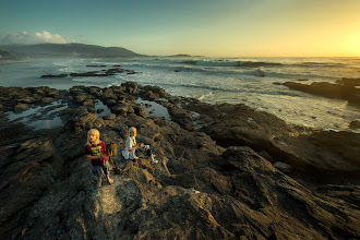 Photo: Waiting for sunset at Carmel - from last weekend. Thank you +Genia Larionova for cool post-processing, love it. This is Canon 14mm lens on Sony 7. Hope one day Zeiss will release a good variety of lenses for Sony FE e-mount... It was this adapter for Canon lenses I've used: http://goo.gl/f8X9oW