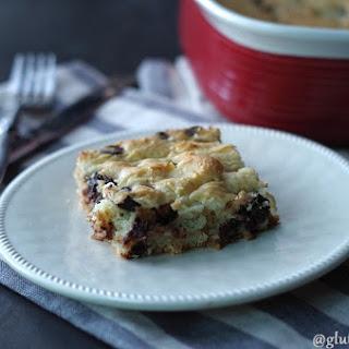 Gluten-Free Chocolate Chip Buttermilk Coffee Cake (8 Ingredients).