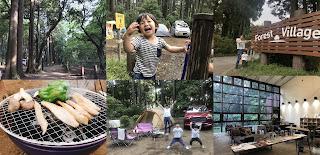 【前編】今年初めてのキャンプは昭和の森フォレストビレッジで♪