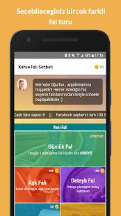 Kahve Falı Sohbeti Ekran Görüntüsü