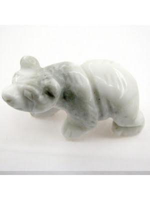 Björn, i flera storlekar och stensorter