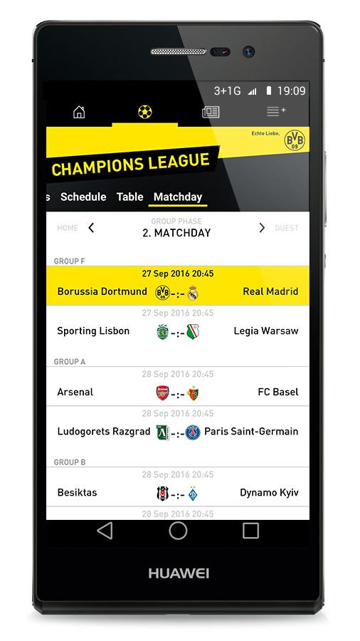 Borussia Dortmund- screenshot