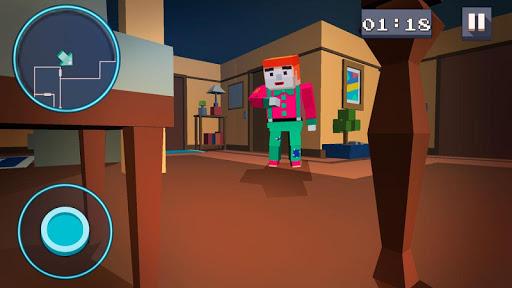 Mystery Neighbor - Cube House screenshot 1