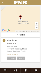 First National Bank of Hooker- screenshot thumbnail