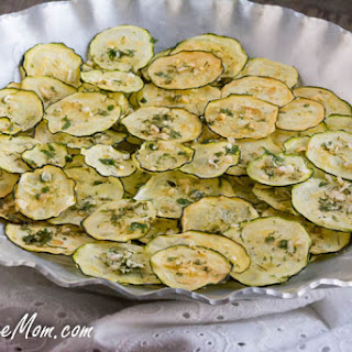 Homemade Ranch Zucchini Chips