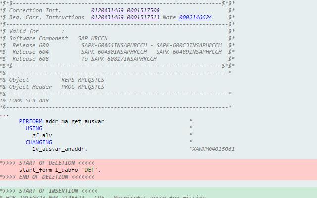 SAP Note Enhancer