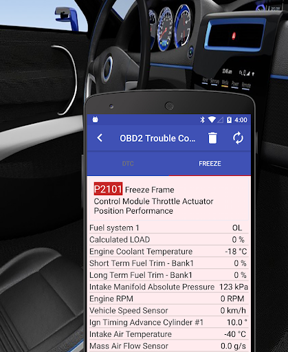 Screenshot for ChevroSys Scan Pro (OBD2 & ELM327 for Chevrolet) in United States Play Store