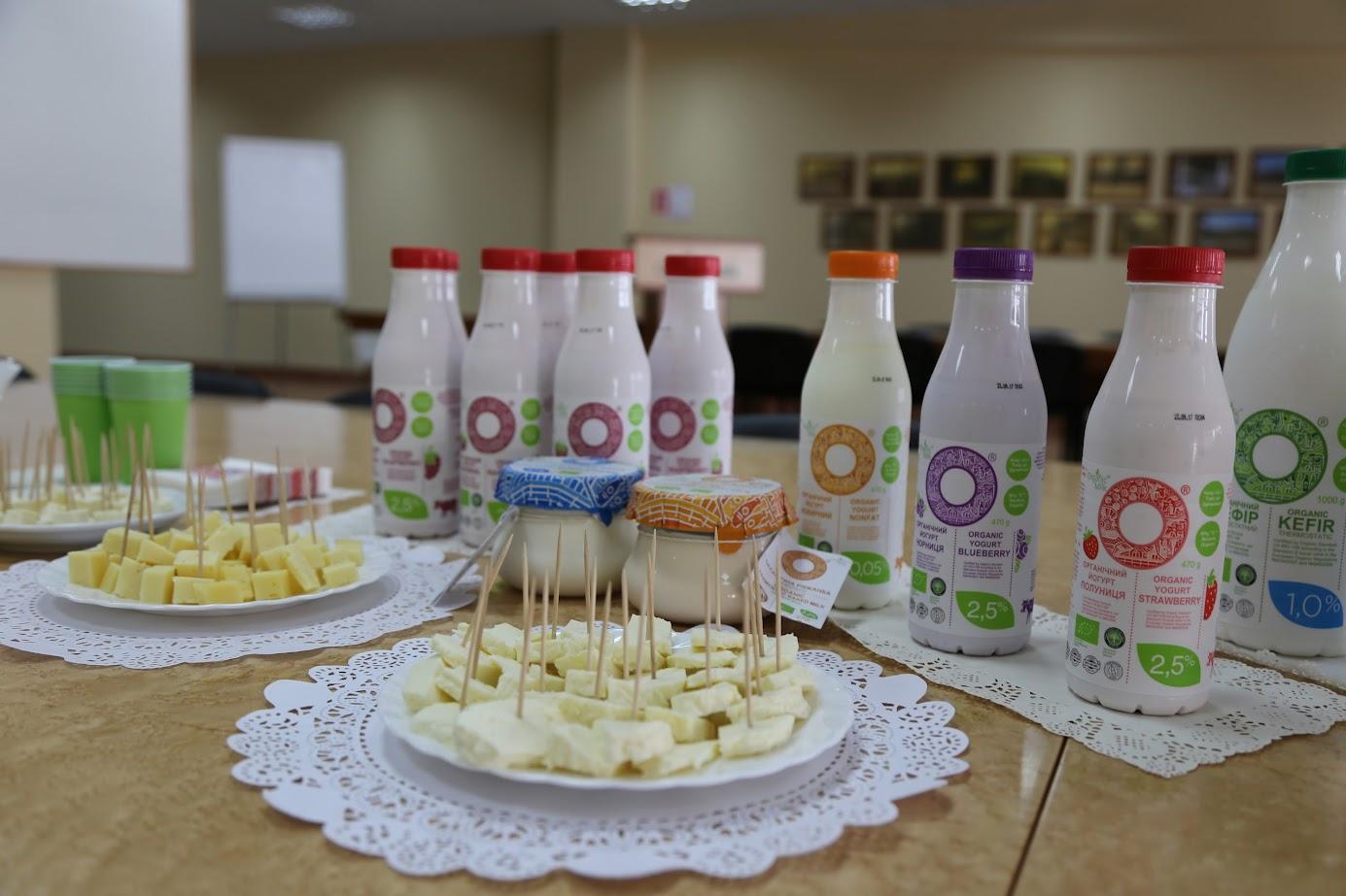 органические продукты organic milk