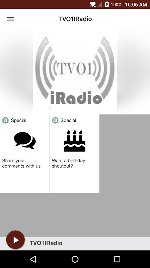 TVO1IRadio- screenshot
