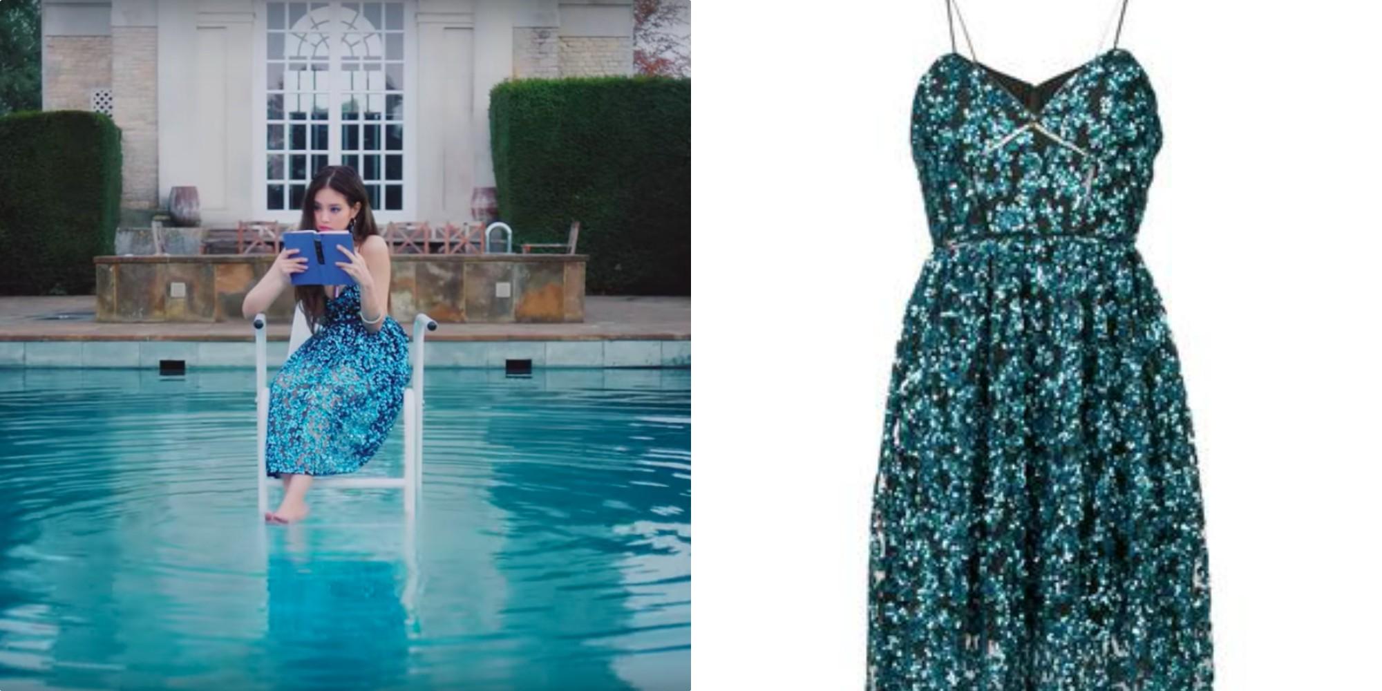 pool dress