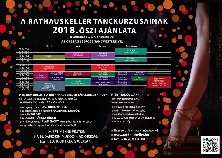 2018. őszi tánckurzusok