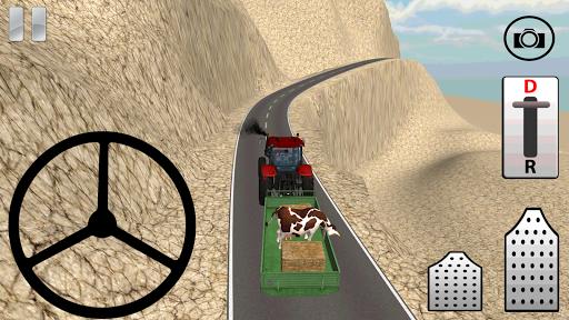 Traktör ile Dağ Tırmanış 3D