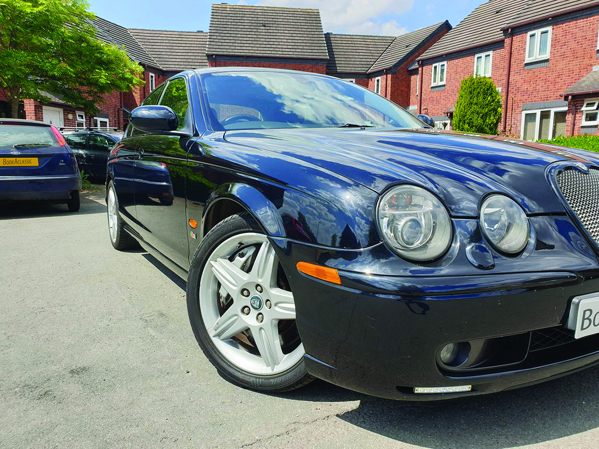 Jaguar S Type R Hire Stafford