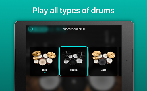 Drums: real drum set music games to play and learn 2.18.01 screenshots 14