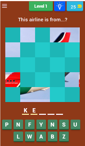 Airline Guessing Game
