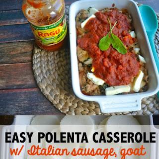 Easy Polenta Casserole
