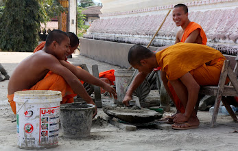 Photo: Day 303 - Men (Monks!) At Work