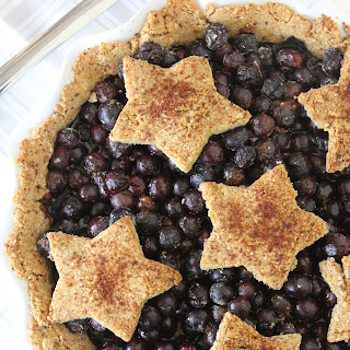 Paleo Blueberry Pie