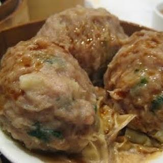 Steamed Beef Balls #DumplingsWorldwide