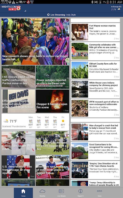 WISH-TV - Indianapolis News screenshots