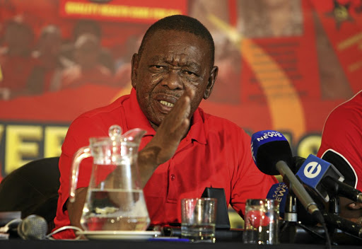 Pointing a finger: SACP general secretary Blade Nzimande told delegates that not only the Guptas were to be blamed for state capture but also ANC members working with them. Picture: SUPPLIED
