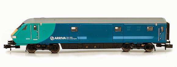 Photo: 2D-010-003  Class 67 DVT Coach Set