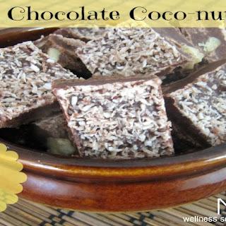 No-Bake Chocolate Coco-nutty Fudge {Dairy-Free| Grain-Free | Paleo}