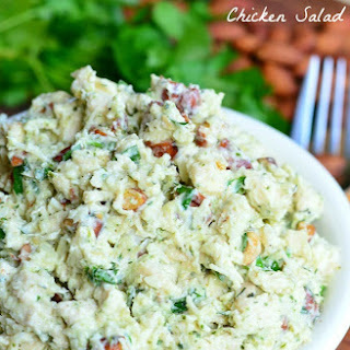 Italian Three Cheese Chicken Salad