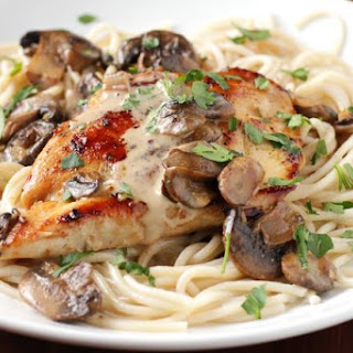 Copycat Recipe for Carrabba's Chicken Marsala.