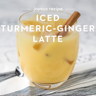 Iced Turmeric & Ginger Latte Recipe