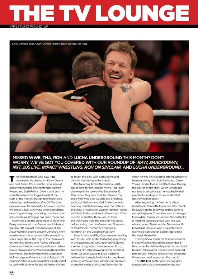 Fighting Spirit Magazine- screenshot