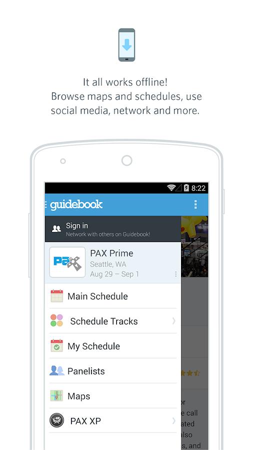 Guidebook - screenshot