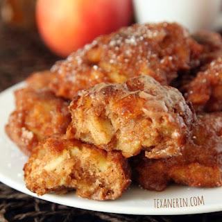 100% Whole Grain Apple Fritters