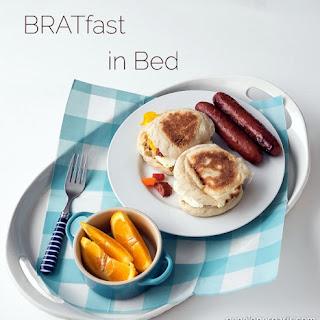 Easy Father's Day Breakfast Sandwich.