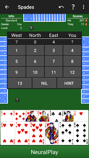 how to play hardwood spades
