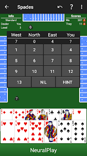 Spades by NeuralPlay- screenshot thumbnail