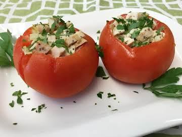 Chicken-Stuffed Tomatoes
