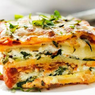 Veggie Lasagna.