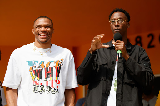NBA star Westbrook and his family help celebrate reopening of amped-up Crenshaw Family YMCA