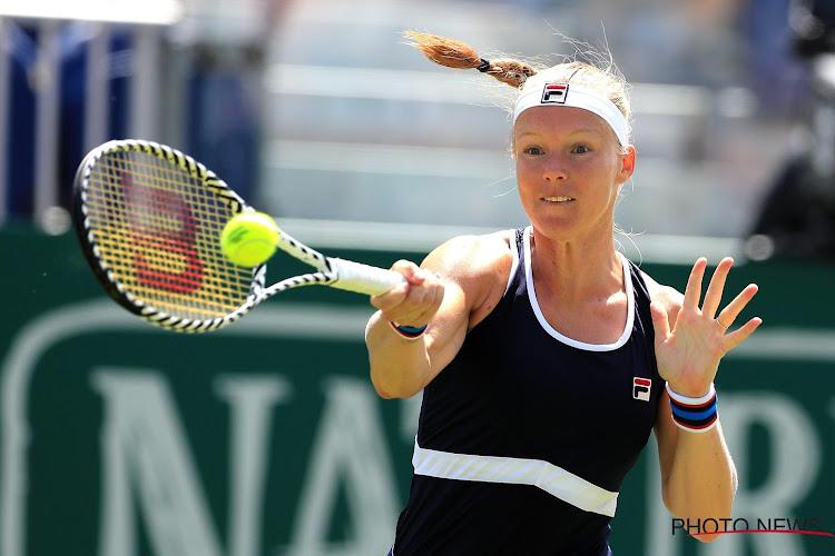 Kiki Bertens geeft verstek voor WTA-toernooi in Adelaide door achillespeesblessure