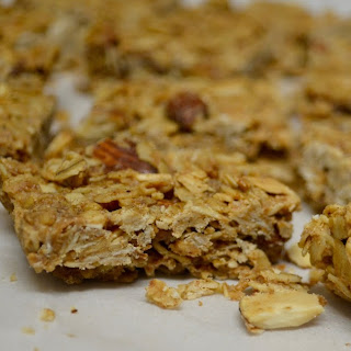Vegan Pineapple Coconut Granola Bars