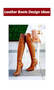 Leather Boots Design Ideas - náhled
